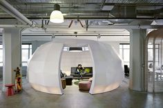 Perhaps a larger version of a Google's Nap Pods designed by #Seeyond.