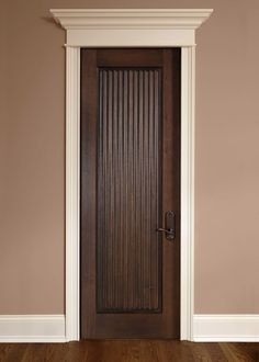 Custom Interior Doors in any style, size or shape. Unique designs, expert craftsmanship, and superior quality hardwoods for supreme customer satisfaction. CUSTOM SOLID WOOD INTERIOR DOORS - Traditional Design Doors by Doors for Builders, Inc. Custom Interior Doors, Custom Wood Doors, Door Design Interior, Main Door Design, Internal Wooden Doors, Wood Entry Doors, Wooden Front Doors, Door Entry, Front Entry