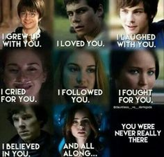 Harry potter/maze runner/percy jackson/the fault in our stars/divergent/hunger games/sherlock holmes/ city of bones Book Memes, Book Quotes, Nerd Quotes, Percy Jackson, Book Of Life, The Book, Film Meme, Fault In Our Stars, Book Series