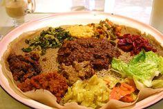 VEGAN and look good!  The Walking Cookbook: Ethiopian Feast: The 5 Recipes (Whew!)