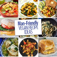 The way to man's heart is through his stomach so why not feed him ALL THE PLANTS with these man-friendly vegan meal ideas. Recipes even the carnivore in your life will love.