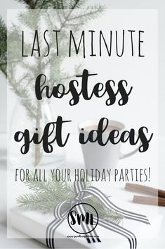 Easy, affordable, last minute hostess gift ideas for all your holiday parties! Best Blogs, Mom Blogs, Thank You Gifts, Gifts For Him, Holiday Parties, Holiday Gifts, Shower Hostess Gifts, Farmhouse Style Decorating, Farmhouse Decor