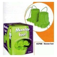 Monster feet.Great for heavy work