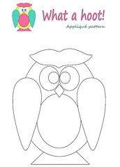 Free Owl Templates  Owl Template  Eulen    Owl