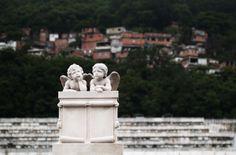 Fog over Cemitério de São João Batista, Rio de Janeiro by Maciej Dudzik, via Behance