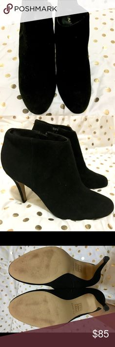 Aldo women's suede booties Super cute suede booties in all black! Complete your fall look with these cuties! Size 8.5 out of the box never been worn! Questions, just ask! Aldo Shoes Heels