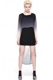 Double Layer Anomalous Lower Dress  $96.99  romwe.com