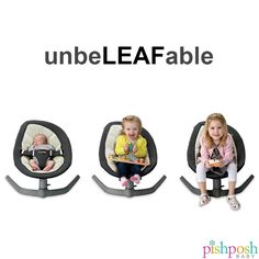 No noise. No batteries. No winding. Just one gentle push gets the @nuna_usa Leaf rocking gently in a soothing side to side motion, like an actual leaf on a tree! And it's not just for babies - Leaf is perfect for kicking back and relaxing after a long day at school, for kids up to 130 lbs. Shop our collection of Nuna products - link in bio!  http://www.pishposhbaby.com/nuna-leaf-bouncer.html