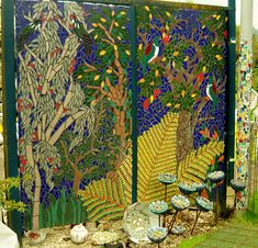 The Mosaic Garden Waihi N.Z. | This is the House and Garden … | Flickr