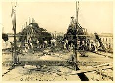 construção do viaduto de santa tereza [1928]