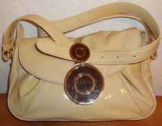 Buy Badgley Mischka Beige, Black & Gold Shoulder Bag by moodsoflife. Explore more products on http://moodsoflife.etsy.com