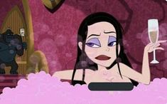 2284 likes, 9 comments - 🦄Movie: The haunted World of El super beasto 🦄:Character: velvet von black Cartoon Icons, Cartoon Memes, Girl Cartoon, Cute Cartoon, Cartoon Characters, Black Cartoon, Phineas Et Ferb, Arte Dope, Arte Fashion