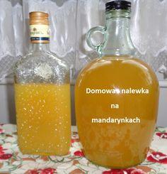 Bardzo smaczna, delikatna w smaku, nalewka na mandarynkach. Pierwszy raz robiłem nalewkę na owocach mandarynek, robimy ją troszkę ina... Hot Sauce Bottles, Soap, Bar Soap, Soaps