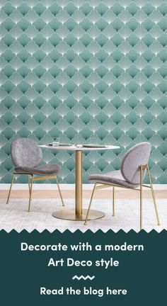 6 Art Deco Wallpapers To Create A Luxurious Interior Dining Room Wallpaper, Art Deco Wallpaper, Modern Wallpaper, Living Room Themes, Modern Art Deco, Chrysler Building, Art Deco Design, Luxury Interior, Classic Style