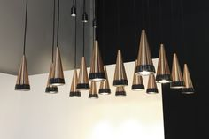 VITRIF pendant lamp / Salone Satellite / Salone del Mobile / 2016 / davidpompa #ffe #lighting #design #lightingdesign #homedesign #interiordesign