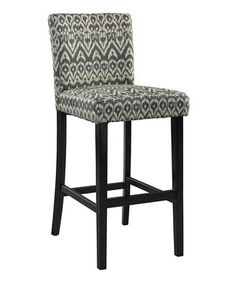 This Ikat Driftwood Morocco Stool by  is perfect! #zulilyfinds