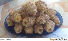Trdelníčky Krispie Treats, Rice Krispies, Cereal, Oatmeal, Meat, Chicken, Cooking, Breakfast, Desserts