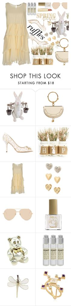 """""""Untitled #595"""" by annbaker ❤ liked on Polyvore featuring Ezekiel, 10 Crosby Derek Lam, Dolce&Gabbana, Ermanno Scervino, Michael Kors, Linda Farrow, ncLA, Tiffany & Co., Le Labo and Ruifier"""
