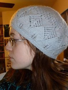 Ravelry: Mary Margaret's Lace Tam pattern by Mary Craver