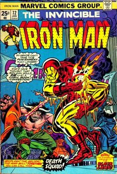 Iron Man #72. The Melter and the Man-Bull.