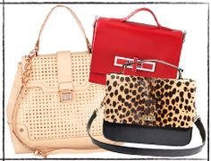 top handle bags. Latest trend =)