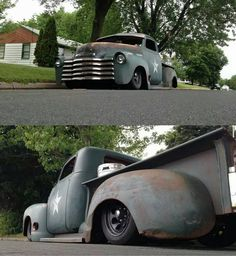 I have these wheels on my 53 Bel Air, and the patina too.