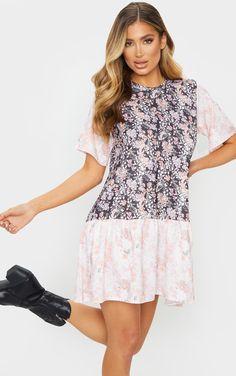Smock Dress, Dress Up, 15 Dresses, Summer Dresses, Off Duty, Nowe Trendy, No Frills, Smocking, Contrast