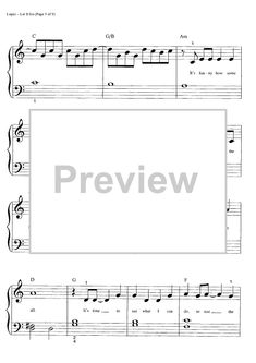 """Buy """"Let it Go (Big Note)"""" Sheet Music by Demi Lovato for Big Note Piano Printable Sheet Music, Digital Sheet Music, Five For Fighting, Note Sheet, Easy Piano, Demi Lovato, Letting Go, Notes, Let It Be"""