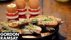 Boiled Eggs With Anchovy Soldiers By Gordon Ramsay Gordon Ramsey Eggs, Chef Gordon Ramsey, Gordon Ramsay Youtube, Anchovy Recipes, Eggs And Soldiers, Eggs Low Carb, Special Recipes, Chef Recipes, Boiled Eggs