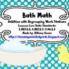 These math workstations provide students with practice regrouping two and three digits. These workstations adhere to Second grade Common Core State...