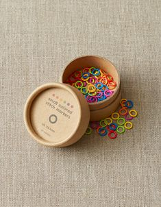 Colored Ring Stitch Markers Small – Packaging