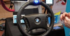 Smart Wheel watches your hands and makes sure they're being used for driving.