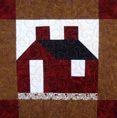 free house quilt patterns | Tasty Gluten-Free Cookies at the Tangled Web Quilters Bee from ...