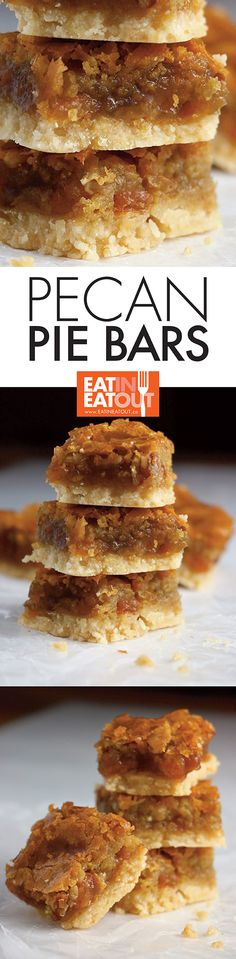 Imagine a pecan pie you can hold in your hand... gooey raisins, pecans and a flaky shortbread crust.... pure yum!