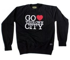 @Natalie Jost Anderson Love City Crewneck, for when you move to NYC