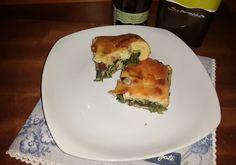 Sale e Pepe quanto basta: Focaccia veloce con verdure, salame e olive taggia...