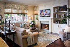 Family Room Ideas Family Room #FamilyRoom