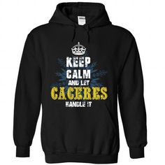 08032103 Keep Calm and Let CACERES Handle It - #mens shirt #tee box. CLICK HERE => https://www.sunfrog.com/Names/08032103-Keep-Calm-and-Let-CACERES-Handle-It-7249-Black-31705246-Hoodie.html?68278