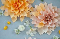 20  Amazing Paper Flower Tutorials