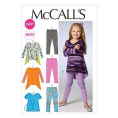 Children's/Girls' Tops and Leggings-6-7-8Children's/Girls' Tops and Leggings-6-7-8,