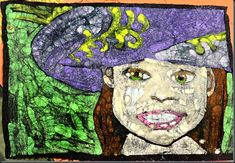 Best #Batik Tutorial Ever! ~ Perfect art project for 4th- 6th graders