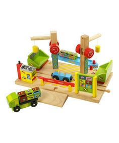 Take a look at this Dockside Recycling Center by Bigjigs Toys on #zulily today!