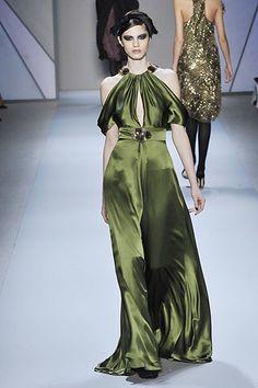 Monique Lhuillier Fall 2008 Ready-to-Wear Fashion Show - Denisa Dvorakova
