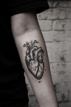 Tattoo Anatomic Heart/Corazón Anatómico                                                                                                                                                                                 Más