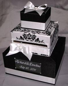 Black and White Card box