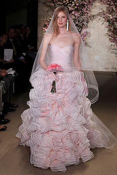 New York Bridal Week 2012: Oscar de la Renta y Vera Wang - Foto 6