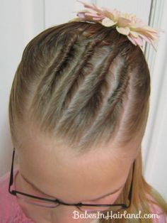 Twists and Half Ponytail from BabesInHairland.com #twists #ponytail #hairstyle #hair
