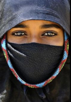 Bedevi kadın Mısır
