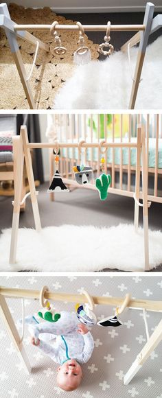 Timber Play Gym / Wooden Play Gym / Activity Gym Frame / Display Rack / Clothes Rack
