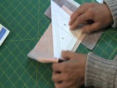 Good video on simple paper piecing quilting -   Fons & Porter: Sew Easy, Paper Foundation Piecing